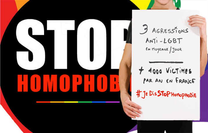 STOPHOMOPHOBIE agressions homophobes